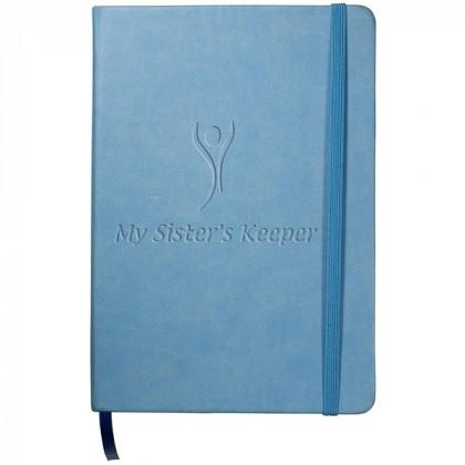 Tuscany Writing Journal - Light blue
