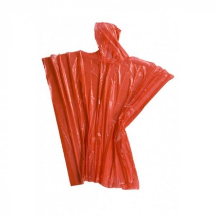 Pronto Rain Poncho- Red