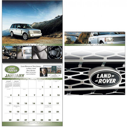 Custom Every Month Large Spiraled Appointment Calendar
