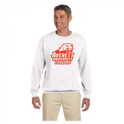 Hanes Ultimate Cotton Crew Neck Logo Sweatshirt