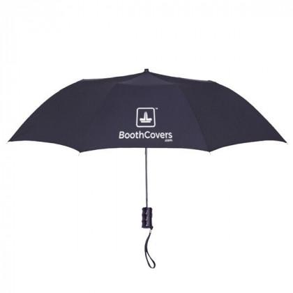 Custom Umbrellas-36 Inch Telescopic - Black
