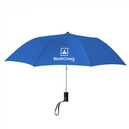 Custom Umbrellas-36 Inch Telescopic - Blue
