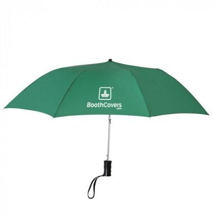 Custom Umbrellas-36 Inch Telescopic - Green