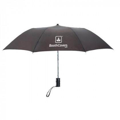 Custom Umbrellas-36 Inch Telescopic - Pewter