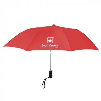 Custom Umbrellas-36 Inch Telescopic - Red