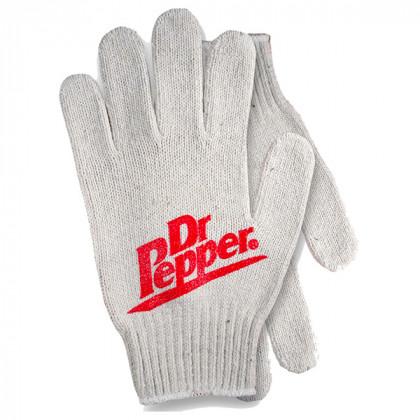 Cotton-poly blend glove - custom palm