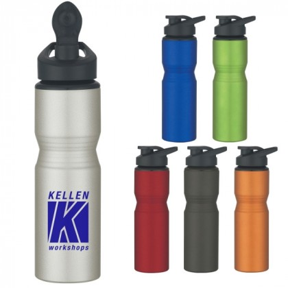 Aluminum Sports Bottle - 28 Oz