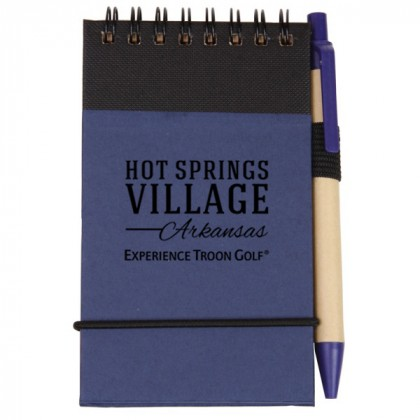 Blue Eco/Recycled Jotter