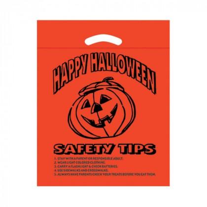 Die Cut Orange Halloween Bag - FREE SET-UP - 12 x 15