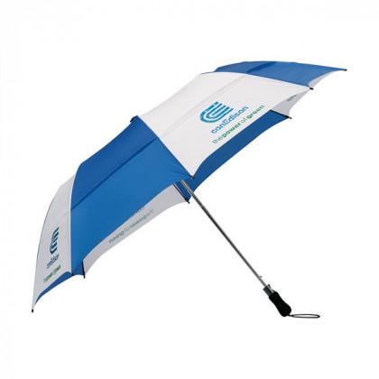 58 in. Vented Folding Golf Umbrella