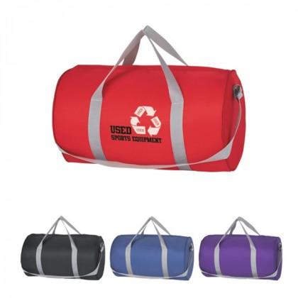 Budget Duffle Bag Zipper Custom Logo