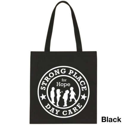 Popular Tote Bag-Low Price-with Imprint - Black