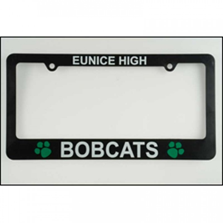 Custom Recycled License Plate Frames with Logo Imprint for ...