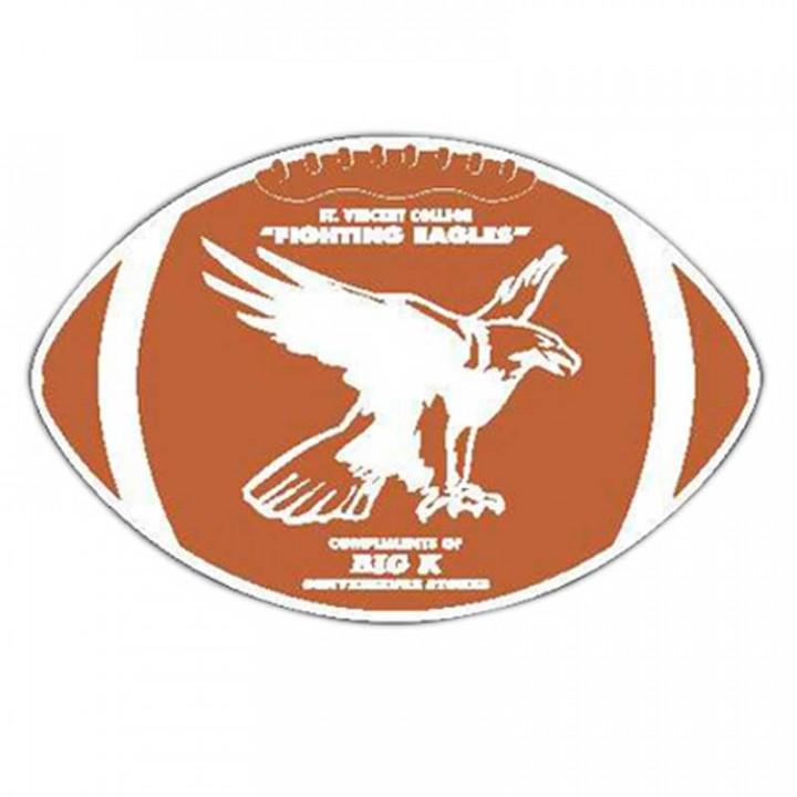Football Car Magnet Logo Promotion AllPromos - Custom football car magnets