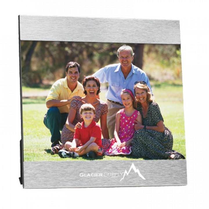 Promotional 5 x 7 Aluminum Photo Frame | Custom Photo Frames in Bulk