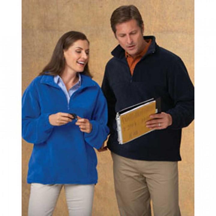 Harriton Quarter-Zip Fleece Pullover Imprinted | 4AllPromos