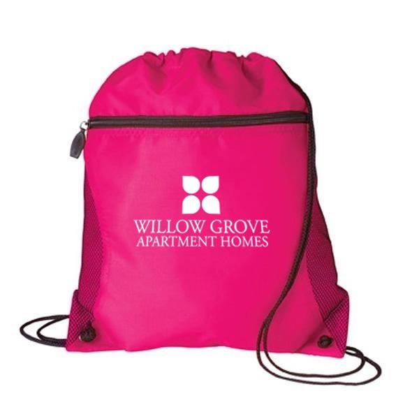 Mesh Drawstring Backpack - Lightweight Backpacks for Travel ...