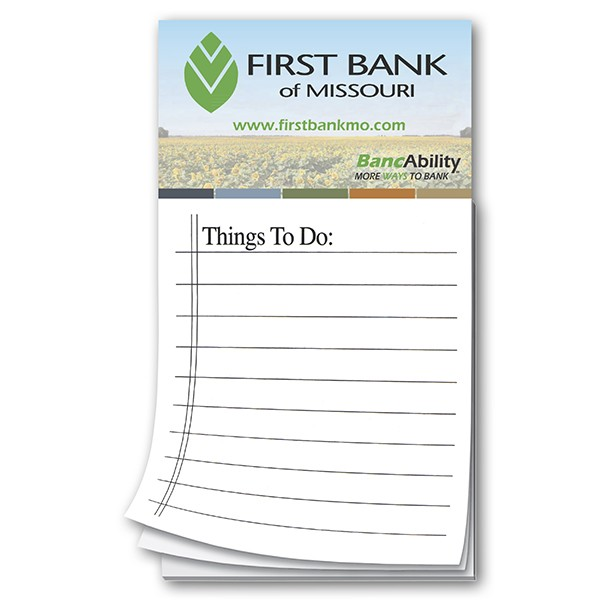 To do list promotional magnet notepads custom magnet notepads to do list promotional magnet notepads with logo business card magnets colourmoves