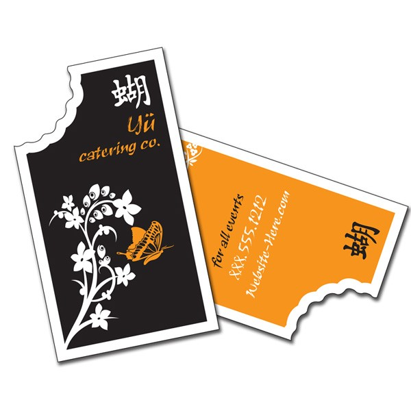 Uv coated full color bite mark business cards 4allpromos uv coated full color business cards bite mark colourmoves