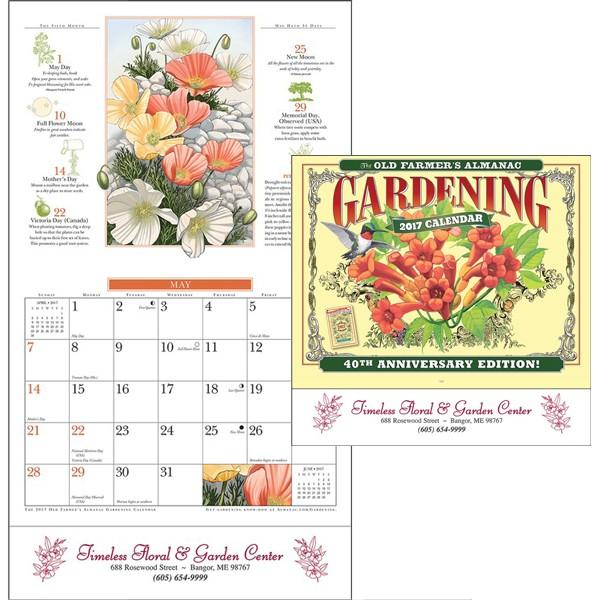 Old Farmers Almanac Gardening Calendar Logo 4AllPromos