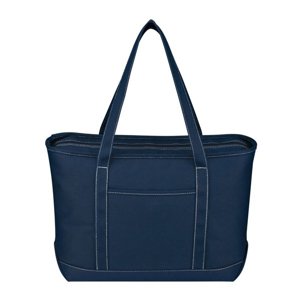 large cotton canvas yacht tote wholesale boat bags in bulk