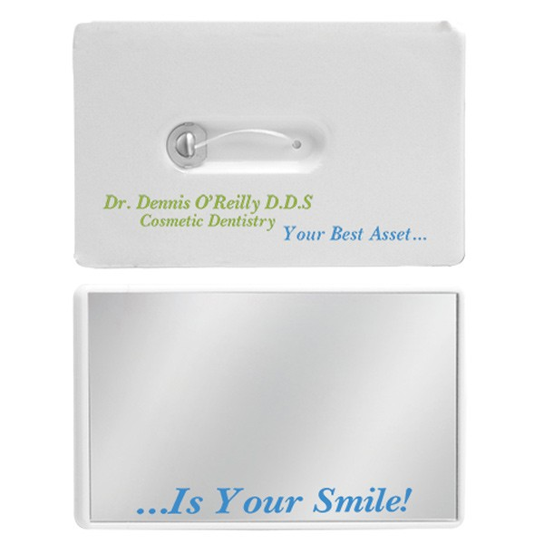 Dental floss promotional credit card custom dental business cards credit card dental floss reheart Choice Image