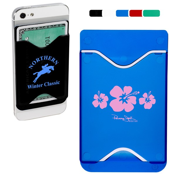 hard plastic cell phone wallet with logo 4allpromos. Black Bedroom Furniture Sets. Home Design Ideas
