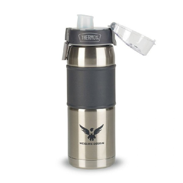 Custom Thermos Double Wall Hydration Bottle 24 Oz