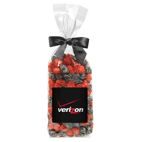 colored popcorn gift bag with logo 4allpromos