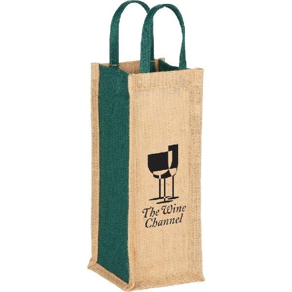 jute single bottle wine tote bulk wine bottle tote bags wholesale