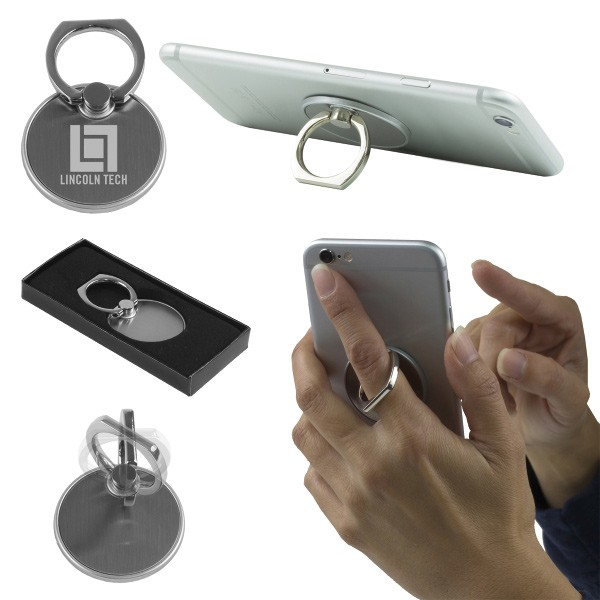 The Twister Cell Phone Metal Ring Holder And Stand