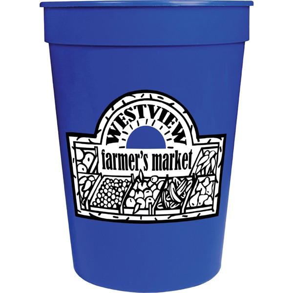 12 oz promotional stadium cups custom logo printed stadium cups