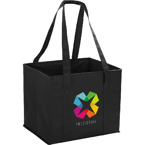 non woven collapsible tote bag personalized fold away tote bags