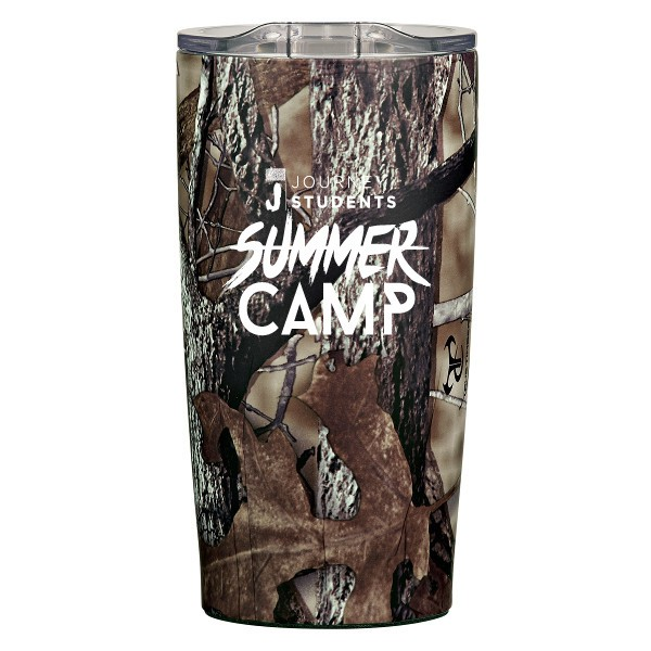Camouflage Custom Double Wall Tumblers | Promotional Insulated Tumbler