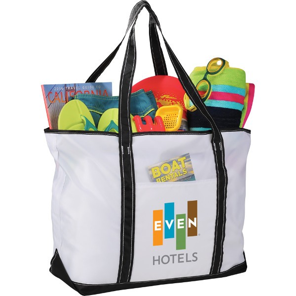 everyday nylon zippered tote wholesale nylon tote bags personalized