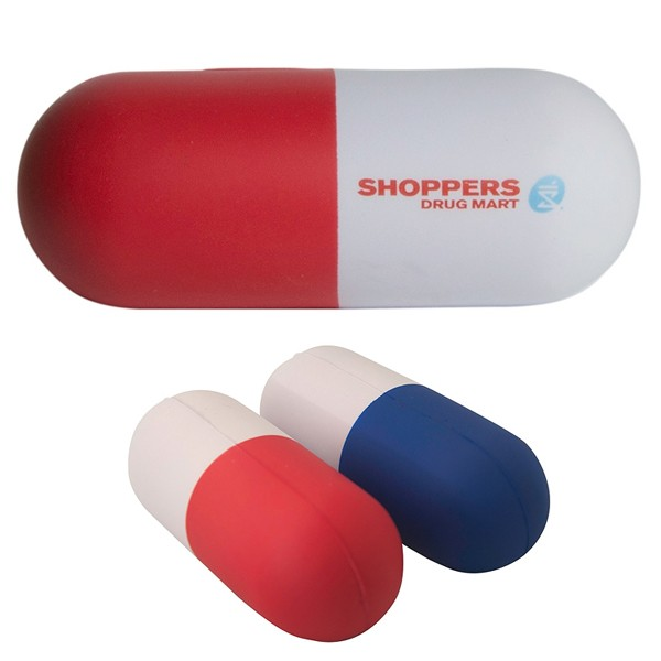 promotional pill stress toy healthcare giveaways 4allpromos