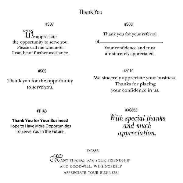 Premium corporate thank you cards with debossed gold foil design customized thank you card greetings m4hsunfo