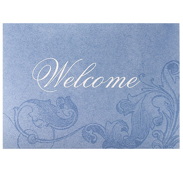 Custom welcome card business greeting cards promo greeting cards iridescent promotional business welcome cards premium corporate greeting cards m4hsunfo Images