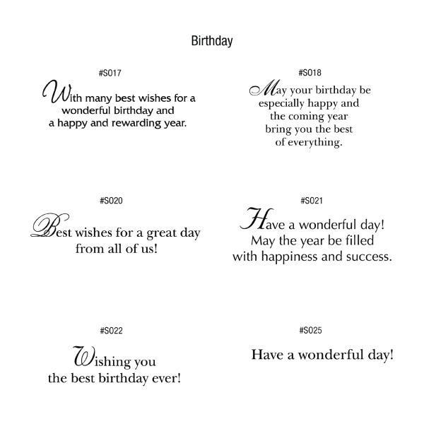 Chalkboard Birthday Card Imprinted With Logo Custom Birthday Cards