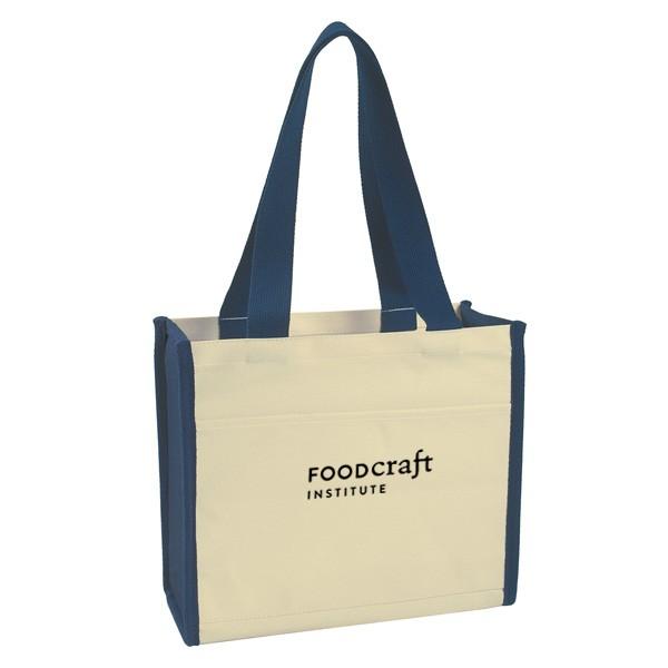 Cotton Canvas Tote Bag Custom Logo | 4AllPromos