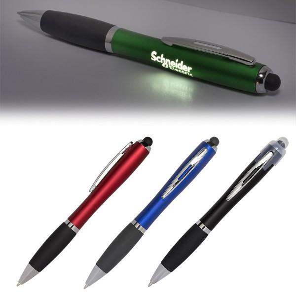 Promotional Goodfaire Logo Light Up Stylus Pen
