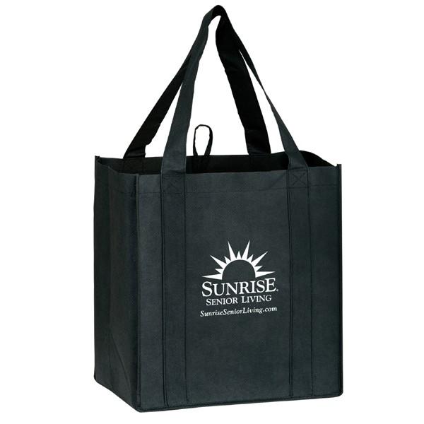 Custom Recycled Bags- Little Thunderbolt Heavy Duty Tote Bag ...