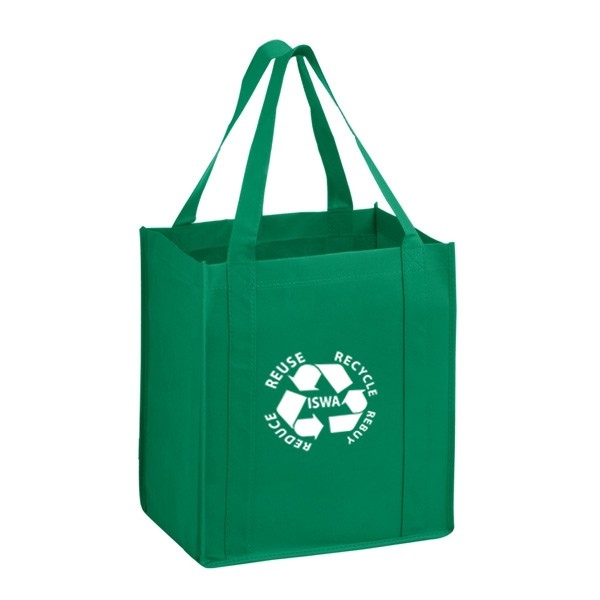 heavy duty non woven grocery bag large custom recycled tote bags