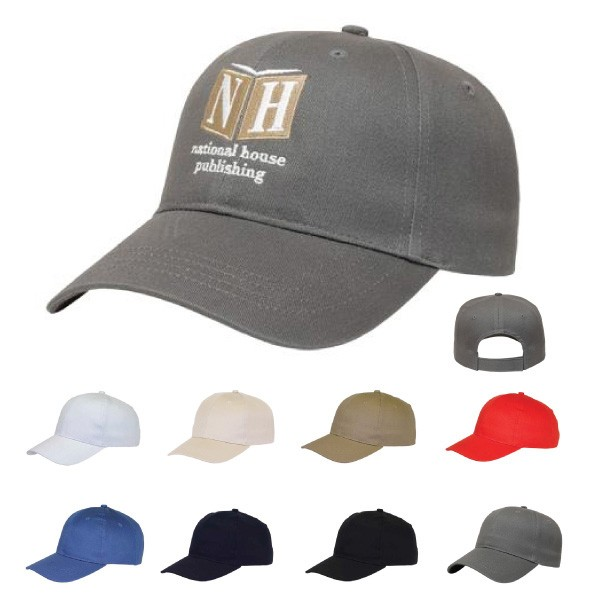 Low Profile Structured Custom Embroidered Hat Promotional Hats