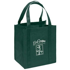Little Thunder Heavy Duty Reusable Tote Bag Custom Imprinted With Logo