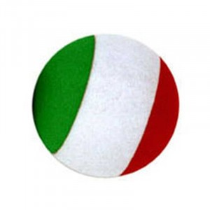 Italian Flag Antenna Ball Promotional Custom Imprinted With Logo