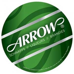 "Round Medium Weight Coaster - 3.5"" or 4"" Promotional Custom Imprinted With Logo"