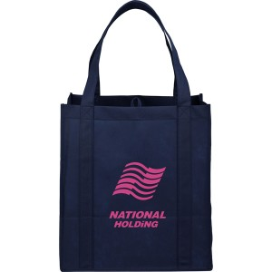 The Hercules Large Grocery Tote - Navy Blue