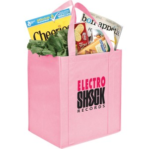The Hercules Large Grocery Tote - Pink