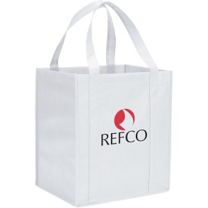 The Hercules Large Grocery Tote - White